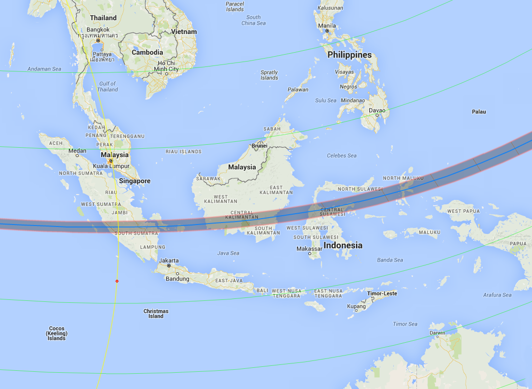 2016 Eclipse Indonesia
